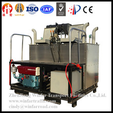 Hot Melt Thermoplastic Road Marking Paint Kneading Machine