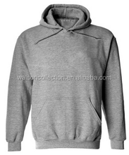 walson wholesale Loom Men's clothing Hooded Sweatshirt - Plain Hoodie Blank Pullover Hoody