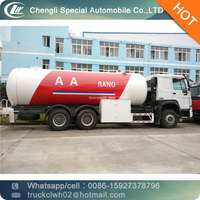 CLW truck with LPG pump and meter 10 ton LPG road tanker