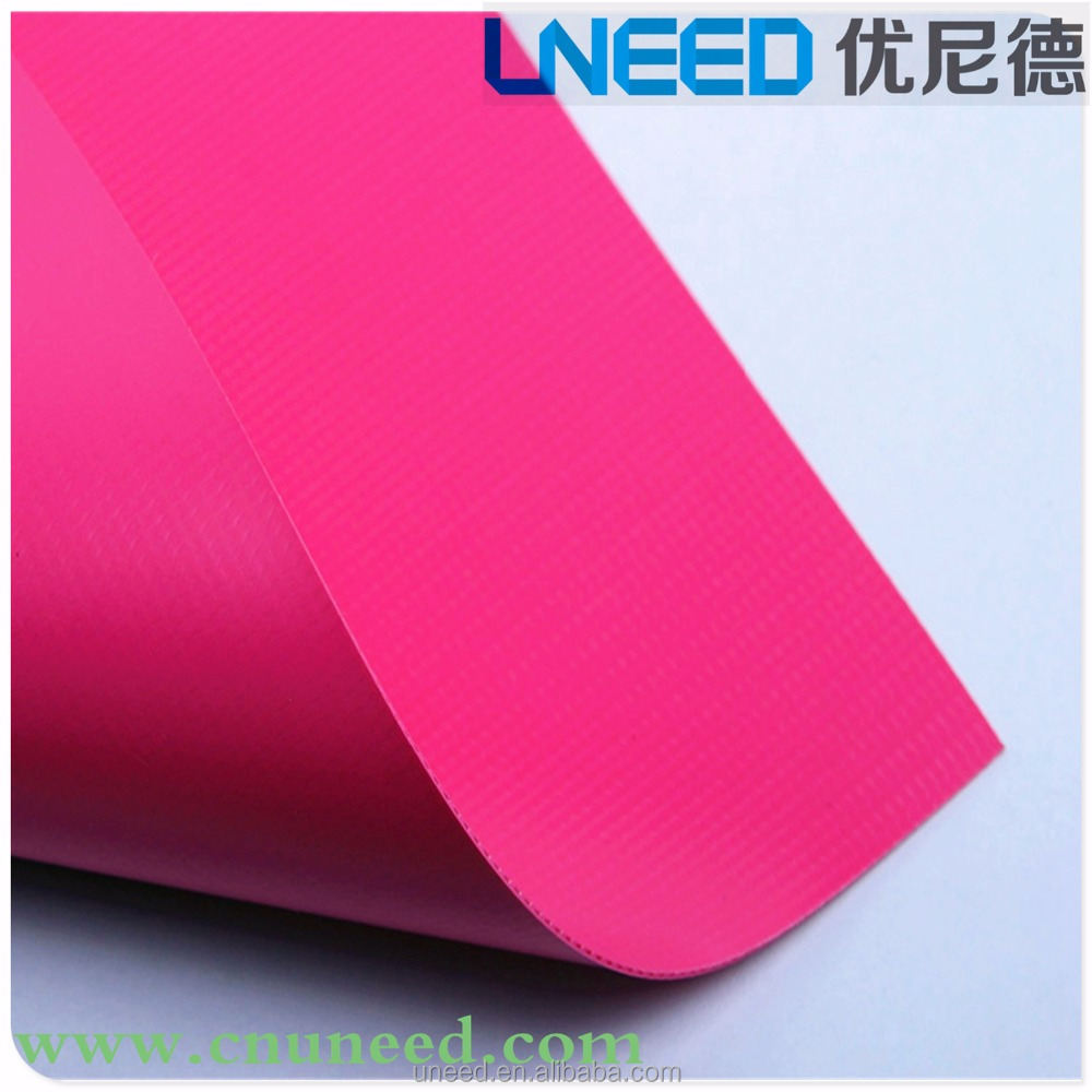 UNEED tarpaulin price, PVC truck side curtain fabric, 100% polyester +PVC materials for truck tarps