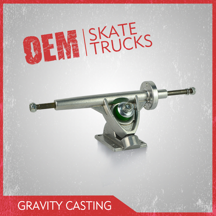High precision gravity casting long electric truck, electric skateboard truck with one side motor driver