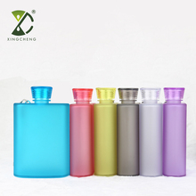Creative Promotional Gift Portable Frosted Plastic A5 Notebook Sport Water Bottle