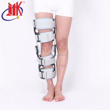 Angle knee beactive brace metal support orthosis for the knee joint