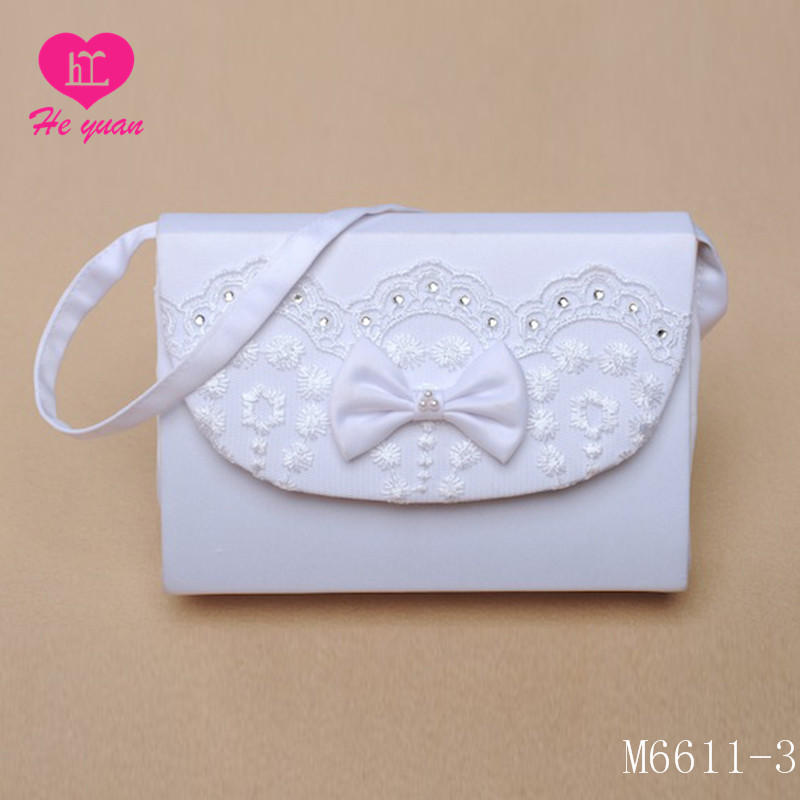M6611-3 The new Bridal Purse flower bag flower girl bag