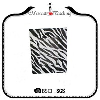 Individual design different sized black and white stripe photo frame paper gift box