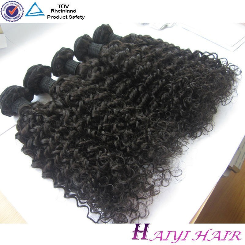 Wholesale price 100 human no chemical processed hair weft human hair ponytail