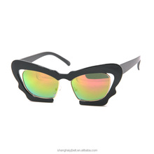 Cat eye yellow lens party sunglasses