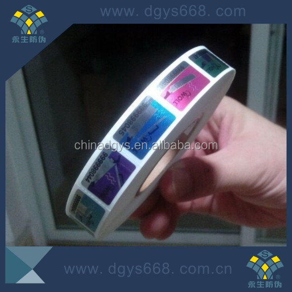 Hot stamping holographic 3d pyramid hologram roll