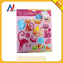 Top sale home decor adornment room decor 3d cat wall stickers