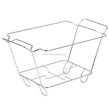 Half size wire chafing dish rack
