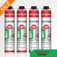 JUHUAN Joint Polyurethane Foam Filler Expanding PU Foam Sealant 750ml