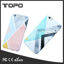 Simple fashion assorted colors plastic cellphone case back cover for iPhone 6 6s 7 plus protective shell