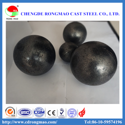 Cast Iron Grinding Media Steel Balls For Chemical Industry And Ball Mill Machinery