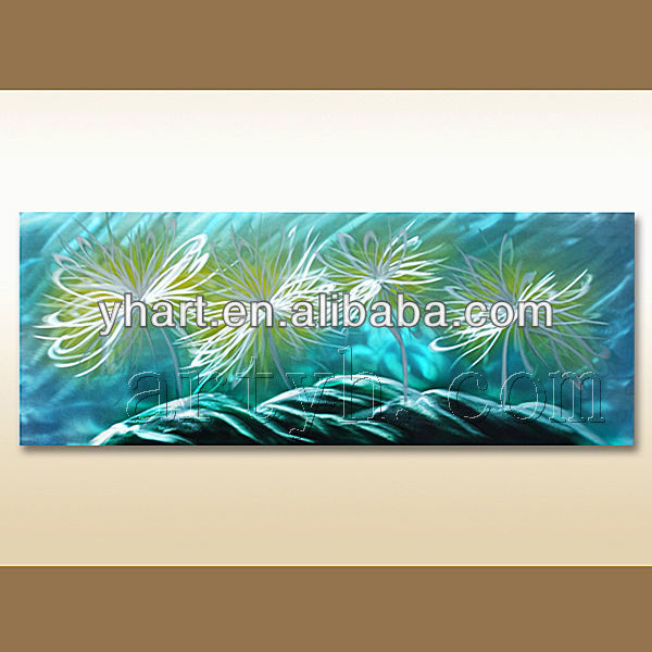 Hot sell 100% handmade metal embossing paintings
