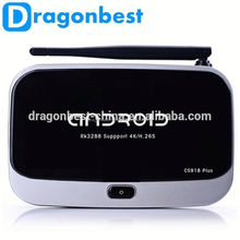 Media Player Support MicroSD(TF) Up to 32GB android cs918G plus tv box Pre install Kodi Quad Core
