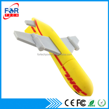 DHL Plane Shaped Promotional PVC android usb drive