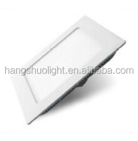 6500K BIS slim 6W round 4 inch led plastic panel light for India market