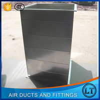 China supplier steel air conditioning pvc duct