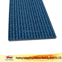 Rubber volleyball sport court mat running track surfacing materials