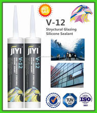 Transparent acidic silicone sealant for big flat glass and aquarium