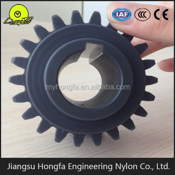 high precision MC Nylon worm gear large or Small Plastic Gears Sale for machinery parts