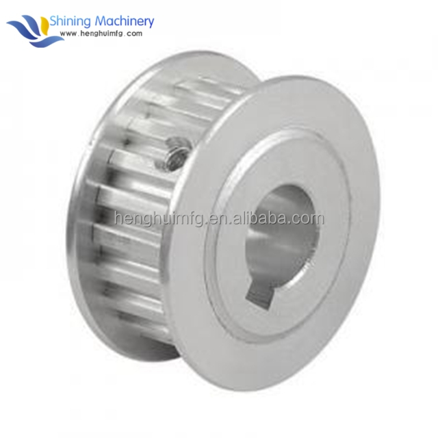 Shining Machinery OEM cnc machined steel aluminum metal 3d printer pulley wheel