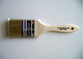"2"" chip brush with wooden handle/bristle paint brush"