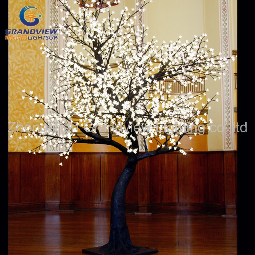 Led exterior impermeable led cherry blossom musical arbol - Arbol de navidad con luces led ...