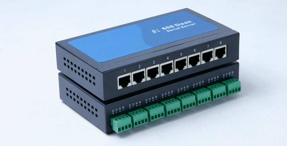 8 port Serial RS232 to Ethernet TCP IP converter module serial device server Fixed TTY driver for UNIX and Linux