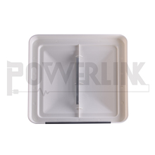 J01244 RV Carvan 14'' X 14'' White Unbreakable Polycarbonate Vent Lid With UV Protecion