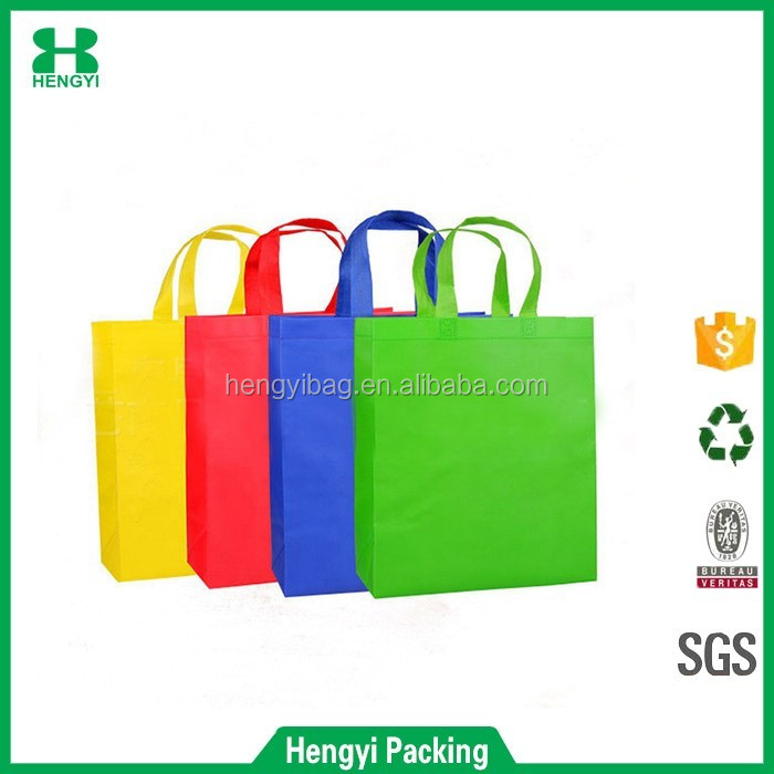 WenzhouHY-M004 non woven wholesale shopping tote bag handle gift bag