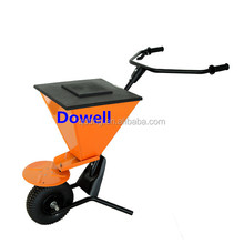 Full metal automanual spreader Lawn semiautomatic broadcast spreader Garden automanual spreader