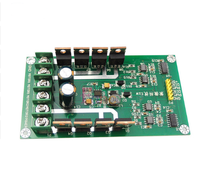 10A Peak 30A Dual Channel Motor Driver Board Module High Power H Bridge DC 3-36V Strong Braking Function Drive Plate IRF3205