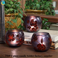 decorative glass bowl candle holder