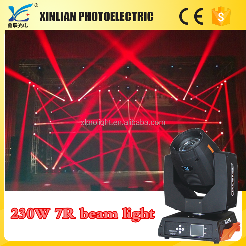 Pro Stage 230w 7r sharpy beam moving head light, 230W Sharpy 7r Beam Moving Head LED Light Sky