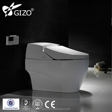 Luxury Bathroom Design auto lid Hotel Smart Toilet Electric One Piece Intelligent Toilet