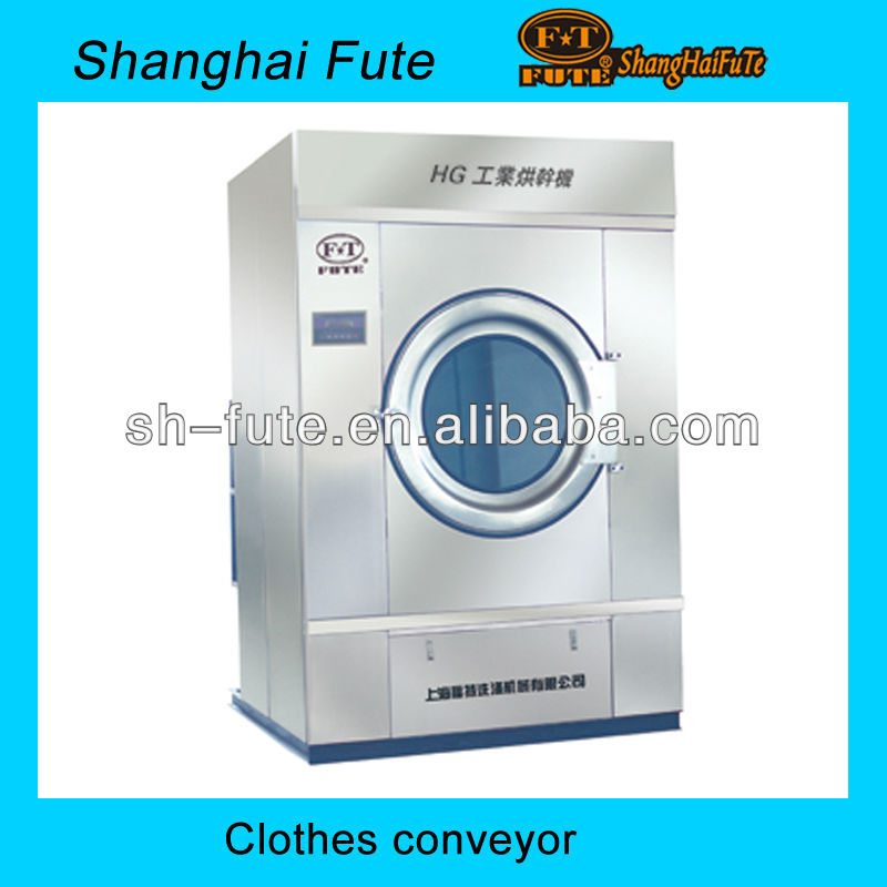 50kg steam heating commercial tumble dryer for laundry shop