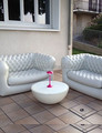 Inflatable air couch sofa for rental