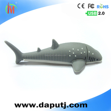 3d USB flash drive pen drive animal usb memory stick 2.0 usb thumb drive 8GB stick shark shape
