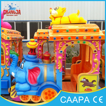 Excellent quality and super fun outdoor and indoor kids used carnival games electric track train for sale