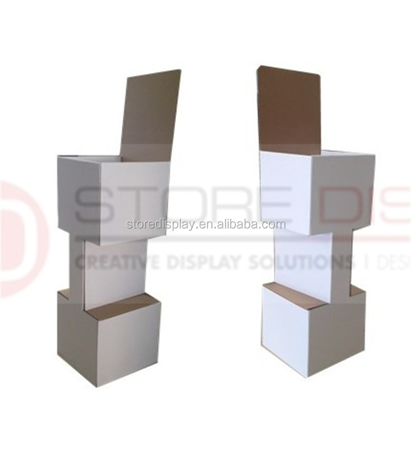 Pop up corrugated paper display standee/point of purchase display standing