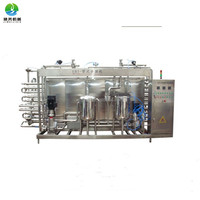 UHT tube type plate pasteurizer for milk and beverage factory price
