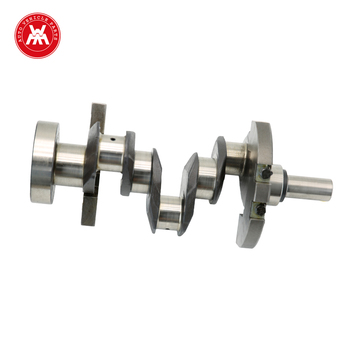 Tractor Parts Crankshaft with Forged Steel material for ZZ90150