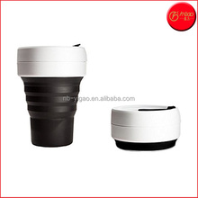 Reusable Collapsible Coffee Cup, Silicone, Travel Mug
