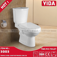 Africa Cheap Toilets Separate Water Closet, New Design Sanitary Ware Washdown WC