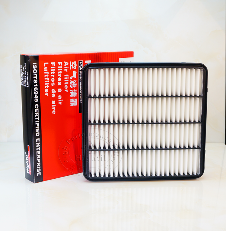 high quality toyota air filter 17801-38030 0S010 51020 for auto parts