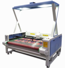 Easy operate laser sticker cutting printing machine