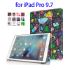 China Suppliers Horizontal Flip Leather Wallet Case for iPad Pro 9.7