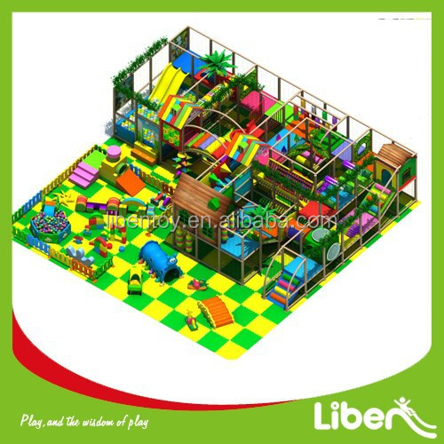 custom made indoor used toddler playground equipments for daycare centre