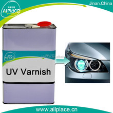 Popular products high gloss uv repairing paint for headlight